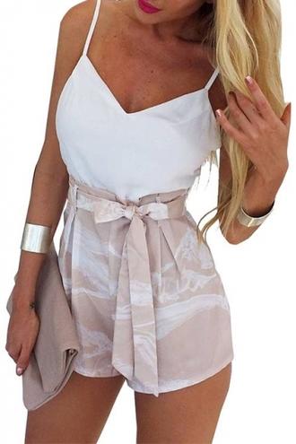 romper fashion style trendy cute spring summer