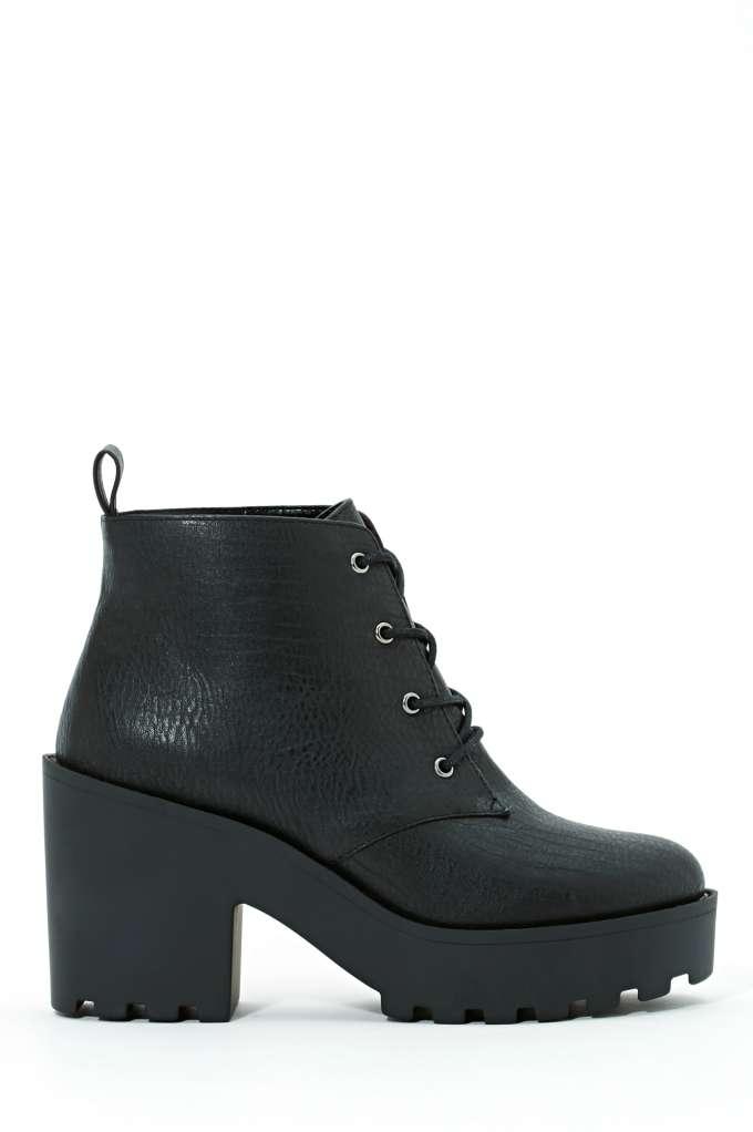 Shoe Cult Marissa Platform Boots | Shop Boots at Nasty Gal