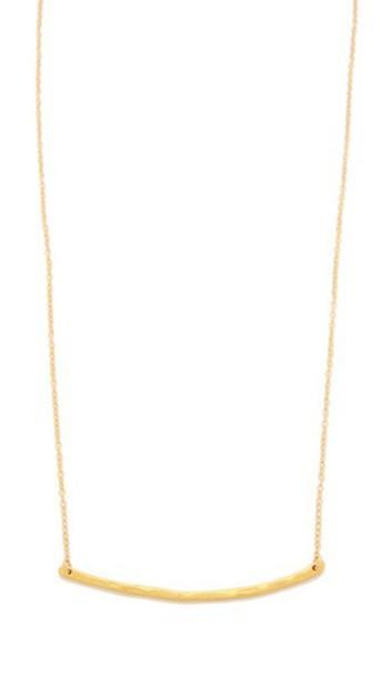 Gorjana Taner Bar Necklace - Gold