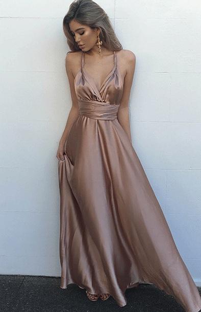 Floor Length Homecoming Dresses