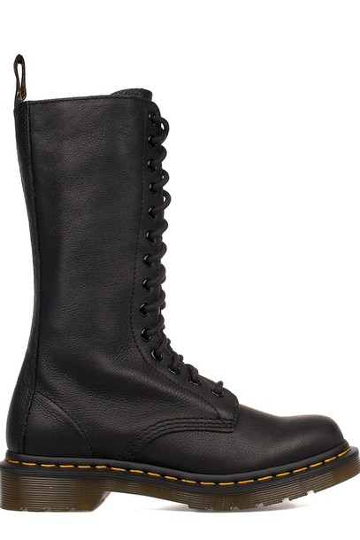 Dr. Martens boot high leather black shoes