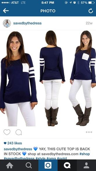shirt navy navy shirt stripes hite white pocket striped shirt