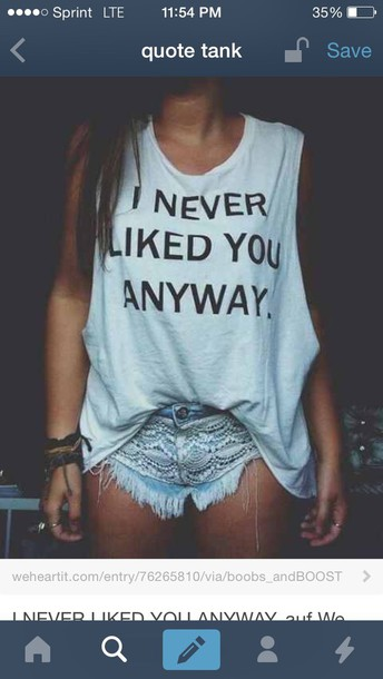 t-shirt jeans denim fringes tumblr top top quote on it quote on it