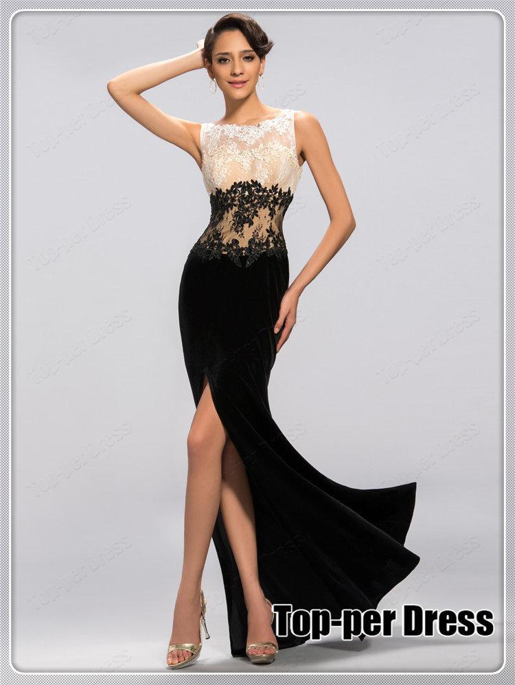 Aliexpress.com : Buy Vestidos de fiesta 2014 elegant prom dresses ...