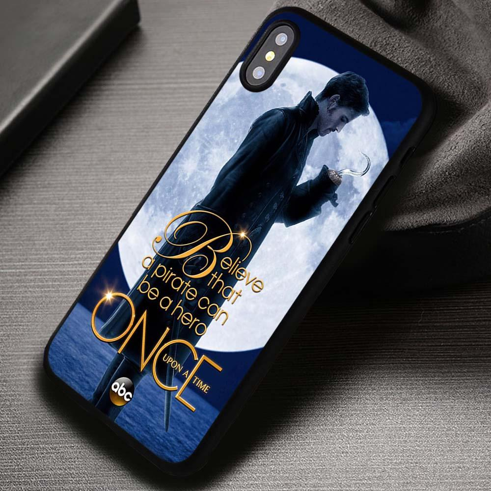 Once Upon a Time Captain Hook Believe - iPhone X 8  7 6s SE Cases & Covers #iPhoneX