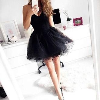dress black dress