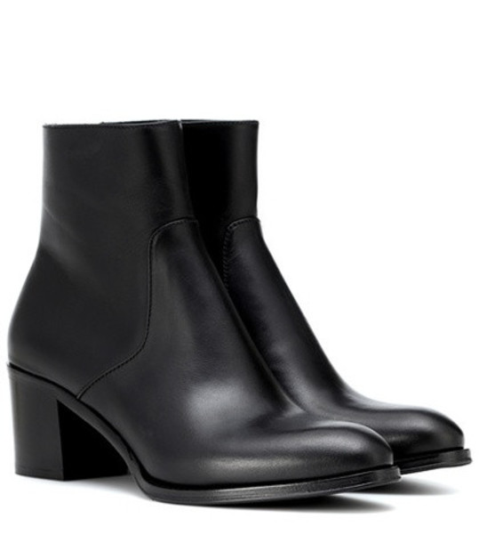 Church's Alease leather ankle boots in black