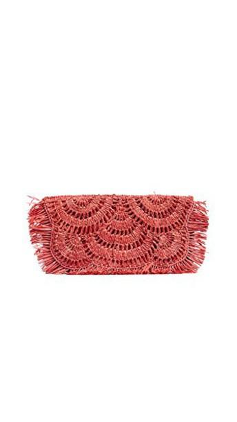 Mar Y Sol clutch pink bag