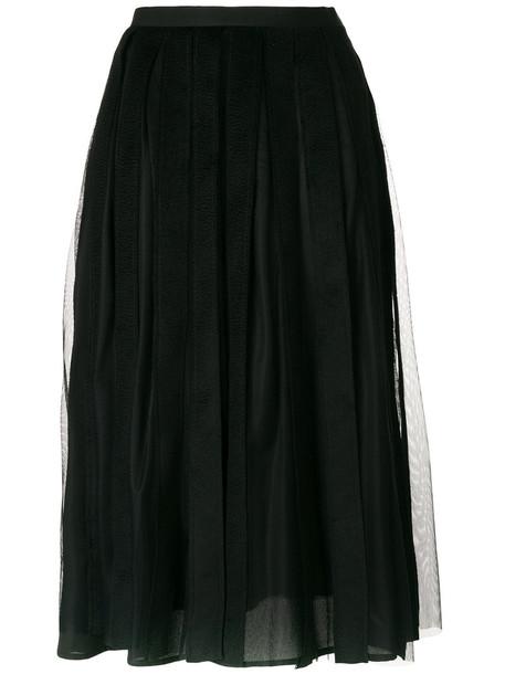 skirt pleated skirt pleated hair women black camel