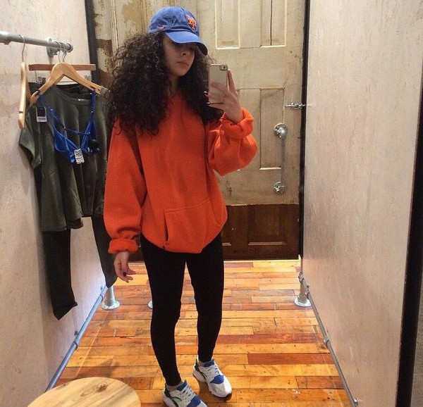 Sweater Orange Sweater Cute Fall Outfits Winter