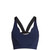Into The Blue pinked-edge performance bra