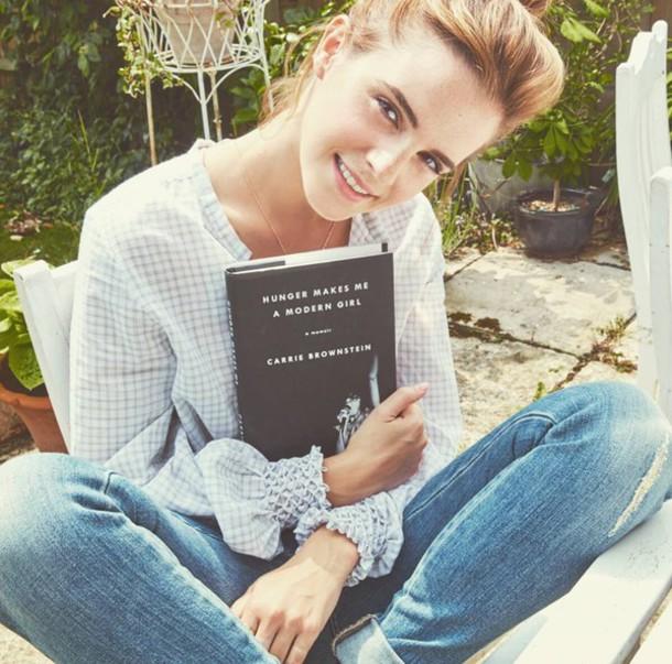 blouse shirt emma watson