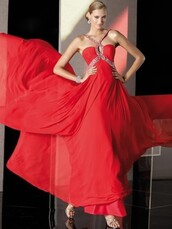 dress,red long prom dresses,chiffon prom dresses,free shipping