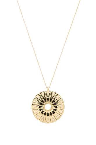 necklace pendant metallic gold