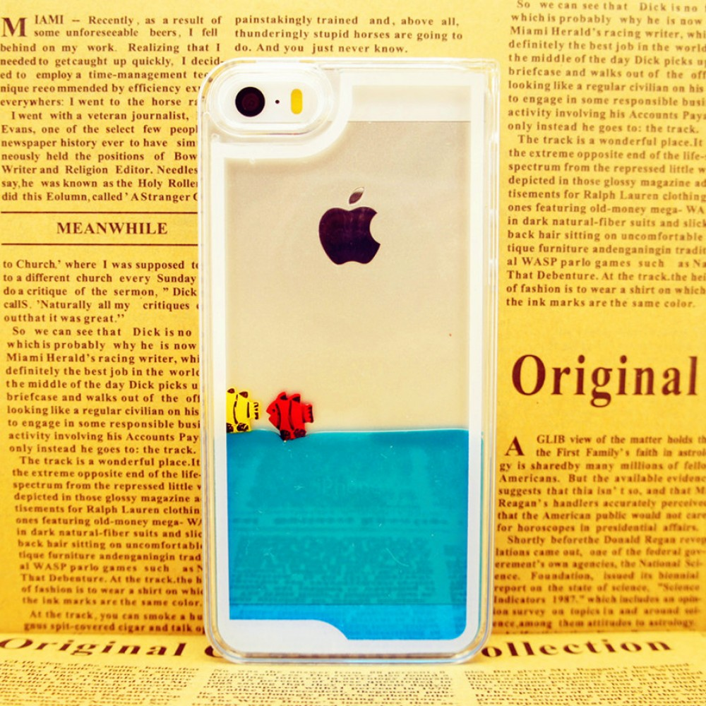 My personal fish tank iphone 5/5s case