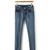 Cotton Elastic Ankle Length Dropped Denim Pants : KissChic.com