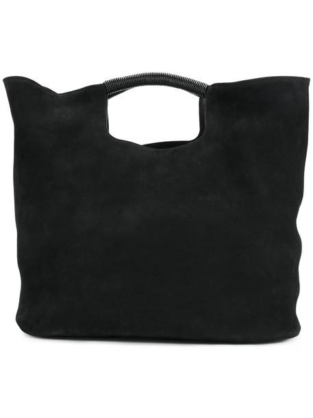 Simon Miller women leather black bag