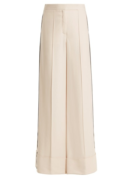 Amanda Wakeley cream pants