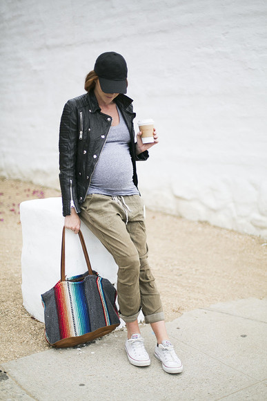 blogger sunglasses jacket bag could i have that jewels maternity sneakers