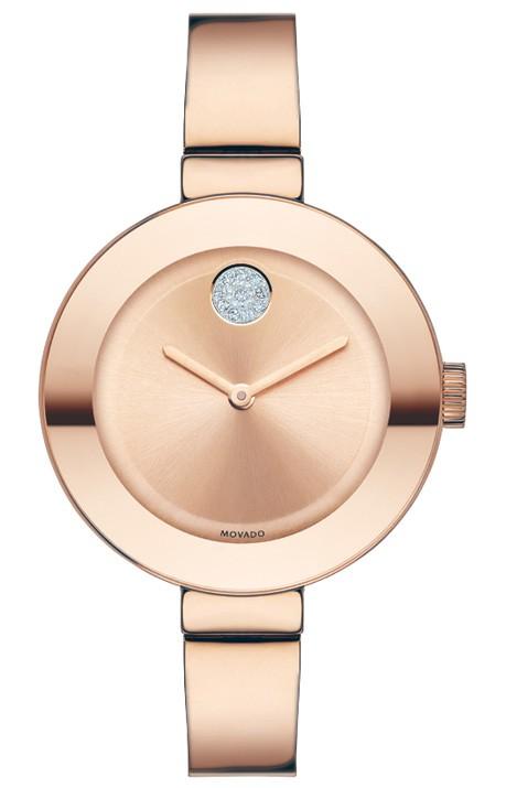 Movado | Movado Bold Mid-Size Rose Gold Bracelet Watch