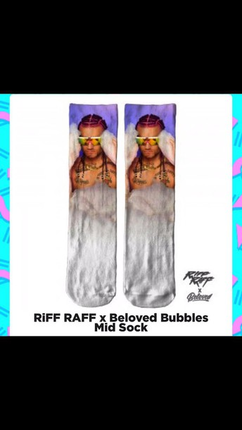 socks riff raf mid socks bubbles celebrity celebrity socks