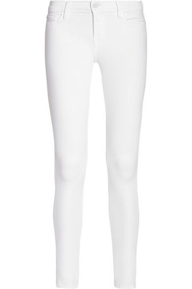 Frame Denim|Le Skinny de Jeanne Crop mid-rise jeans|NET-A-PORTER.COM