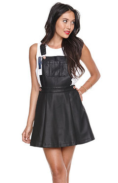 Korean Fashion Black Overalls