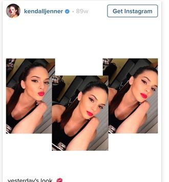 make-up kendall jenner