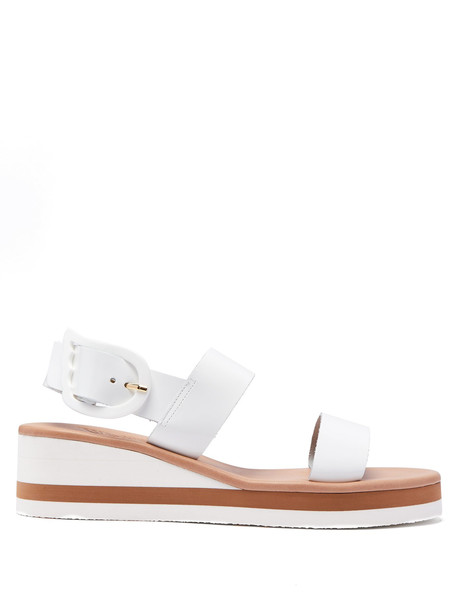 heel rainbow sandals leather sandals leather white shoes