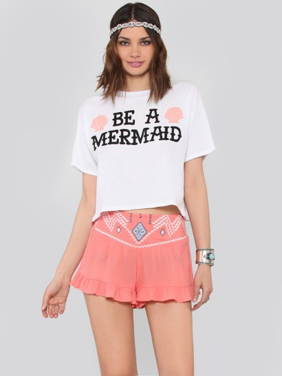 Mermaid Crop Top at Gypsy Warrior