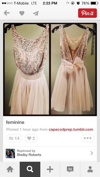 dress pink dress sparkling dress short pink prom dress