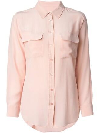 shirt purple pink top