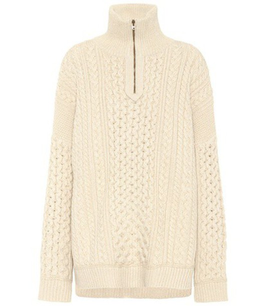 Chloe sweater wool beige
