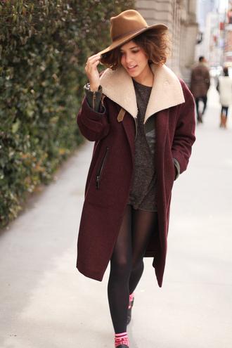 trop rouge jacket sweater coat shoes hat