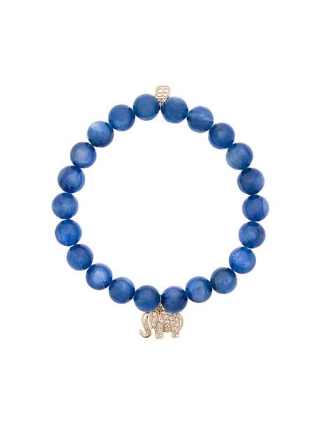 sydney evan beaded bracelet women elephant beaded gold blue jewels
