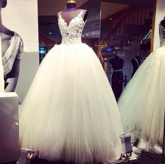 dress white dress wedding wedding dress white wedding dress lush i want this dress marriage marriage dresses big day white cute dress long dress sexy dress fashion style be fashionable wedding clothes lace wedding dress wedding d