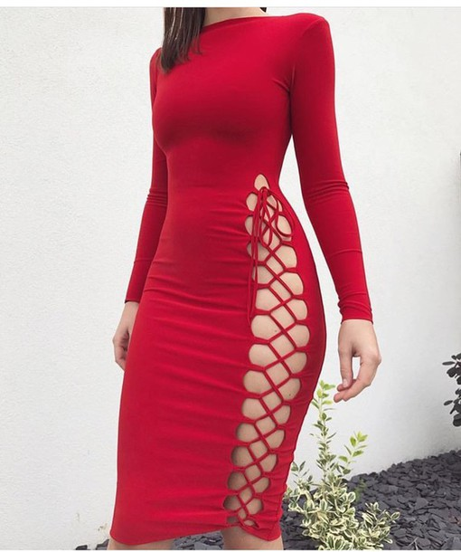 717119d883f dress red dress sexy dress long dress short dress party dress long sleeves  long sleeve dress