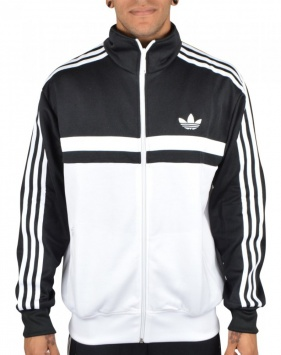 Adidas Originals Adidas Originals Iconic Track Jacket - Black - Adidas Originals from Richmond Classics Ltd UK