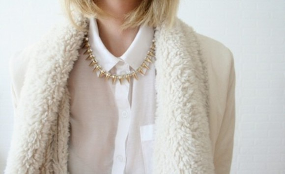frantic jewelry jewels statement necklace