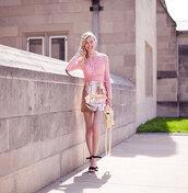 cocorosa,blogger,skirt,dress,top,bag,shoes,jewels