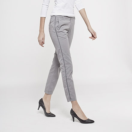 Pantalon slim femme IKKS (BD22025) | Vêtement Femme Ete 14