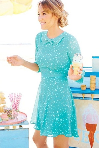 dress lauren conrad retro mint dress