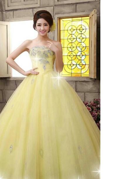 dress engagement ring yellow dress yellow prom dress