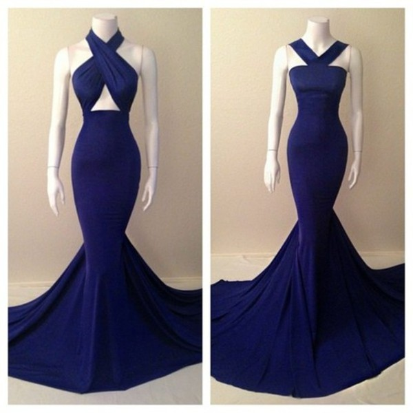 dress blue dress prom dress neckline flare fit and flare dress
