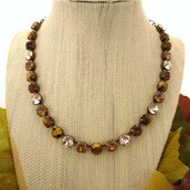 jewels,swarovski,crystal,jewelry,brown