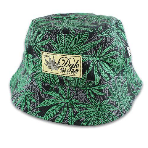 DGK Home Grown Bucket Hat | Black | Dissent Skate Shop