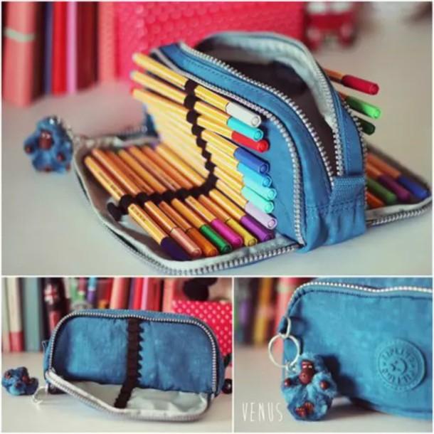 bag pencil case high school back to school kipling