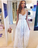 Adonia lace maxi dress