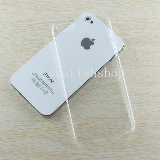 Ultra Thin Crystal Clear Snap on Hard Case Cover Skin for Apple iPhone 5 5g 5th | eBay