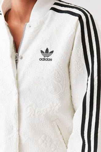 jacket adidas jacket bomber jacket white adidas adidas originals